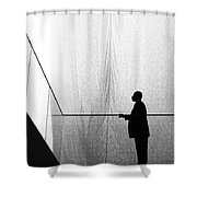 Patient Tension Shower Curtain