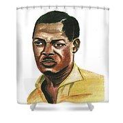 Patrice Lumumba Shower Curtain
