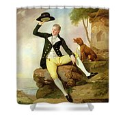 Patrick Heatly Shower Curtain by Johann Zoffany