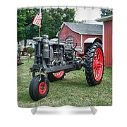 Patriotic Farmall Shower Curtain