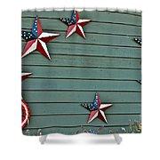 Patriotism Shower Curtain