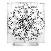 Pattern 18 Shower Curtain