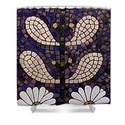 Patterns Of The Past Shower Curtain