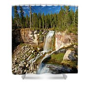 Pauina Falls Overlook Shower Curtain