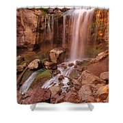 Paulina Falls Sunset Shower Curtain