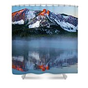 Paulina Peak Reflections Shower Curtain
