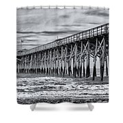 Pawleys Island Pier Shower Curtain