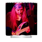 Peace And Uli Roth Shower Curtain