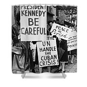 Peace Protest, 1962 Shower Curtain