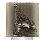 Peace Tower Shower Curtain