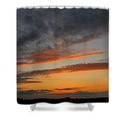 Peaceful Evening II Shower Curtain