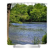 Peaceful River Shower Curtain