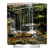 Peaceful Rocks Shower Curtain