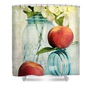 Peachy Shower Curtain
