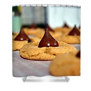 Peanut Blossoms Shower Curtain