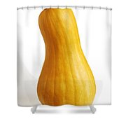 Pear Pumpkin Shower Curtain