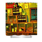 Pear Wine And Jam Shower Curtain
