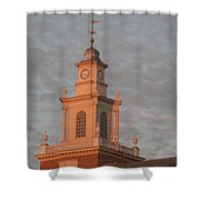 Pearl Evening Shower Curtain