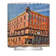 Pearl Street Brewery Shower Curtain