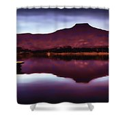 Pedernal  Shower Curtain