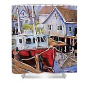 Peggy S Cove 02 By Prankearts Shower Curtain