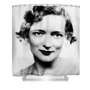 Peggy Wood (1892-1978) Shower Curtain