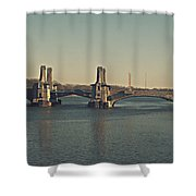 Pelham Bridge - Fade Shower Curtain