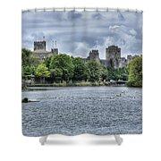 Pembroke Castle Shower Curtain