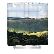 Pennine Way View Shower Curtain