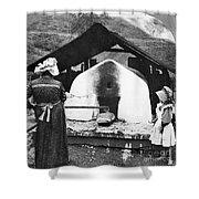 Pennsylvania: Bakery, 1905 Shower Curtain