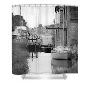 Penryn Bridge Shower Curtain