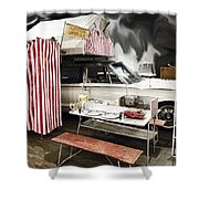 Penthouse Campers Club-chrysler Shower Curtain