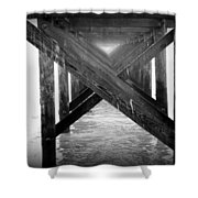 Penthouse Pier Shower Curtain