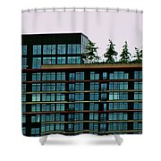 Penthouse Pines Shower Curtain