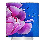 Peony Dust Shower Curtain