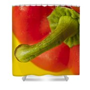 Peppered 3 Shower Curtain