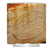 Pepsi Cola Remembered Shower Curtain