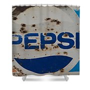 Pepsi Old Style Shower Curtain