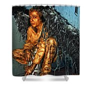 Perched On Bourbon Street Shower Curtain