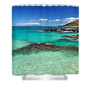 Perfect Day At Makena Shower Curtain