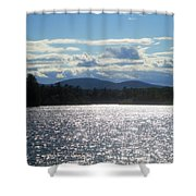 Perfect Day On The Lake Shower Curtain