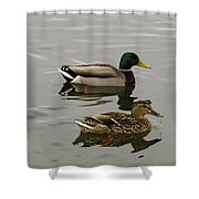 Perfect Pair Shower Curtain