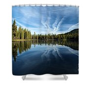 Perfect Reflection Shower Curtain