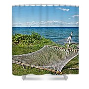 Perfect Vacation Spot Shower Curtain