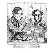 Performing The Marsh Test, 1856 Shower Curtain by Science Source