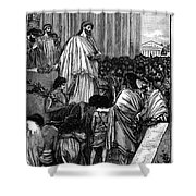 Pericles (c495-429 B.c.) Shower Curtain