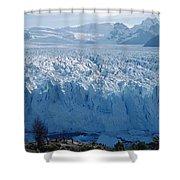 Perito Moreno Glacier, Tourist Overlook Shower Curtain