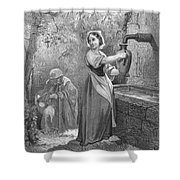 Perrault: The Fairies Shower Curtain