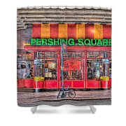 Pershing Square Central Cafe I Shower Curtain