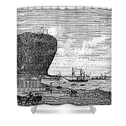 Peru: Arica, 1880 Shower Curtain